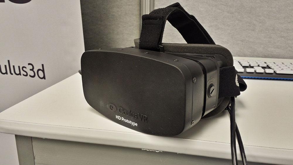 Oculus VR Rift  HD 1080p Prototype Headset Impresses