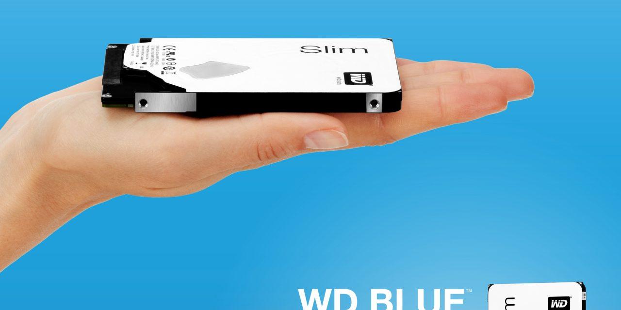 Western Digital shrinks 1TB 2.5″ WD Blue HDD down to 7mm