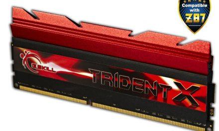 G.Skill Launches 32GB DDR3 3000MHz TridentX Series Memory