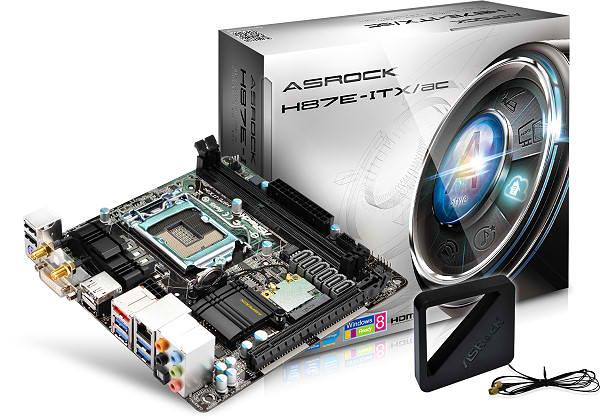 ASRock Announces Mini ITX H87E-ITX/ac LGA 1150 Motherboard
