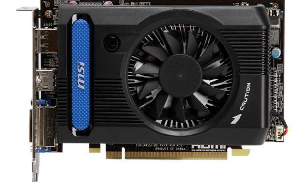 Rumor: MSI Readies Budget GCN-Based Radeon HD 7730 Graphics Card