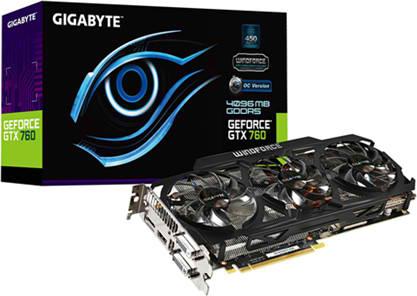 Gigabyte Launching Factory Overclocked GTX 760 4GB WindForce OC Graphics Card