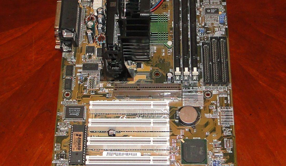 Hardware Flashback: Asus P2B