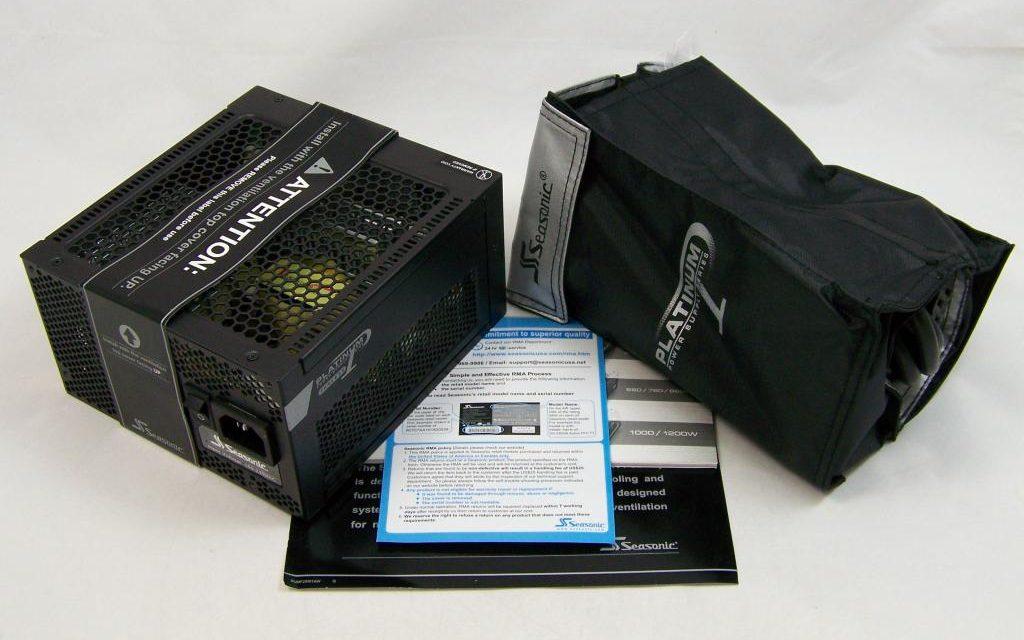 Seasonic's high quality 400W PSU, the  X-400FL Platinum