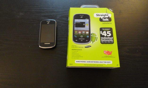 Just Delivered: Samsung Galaxy Centura Android Smartphone (SCH-S738C)