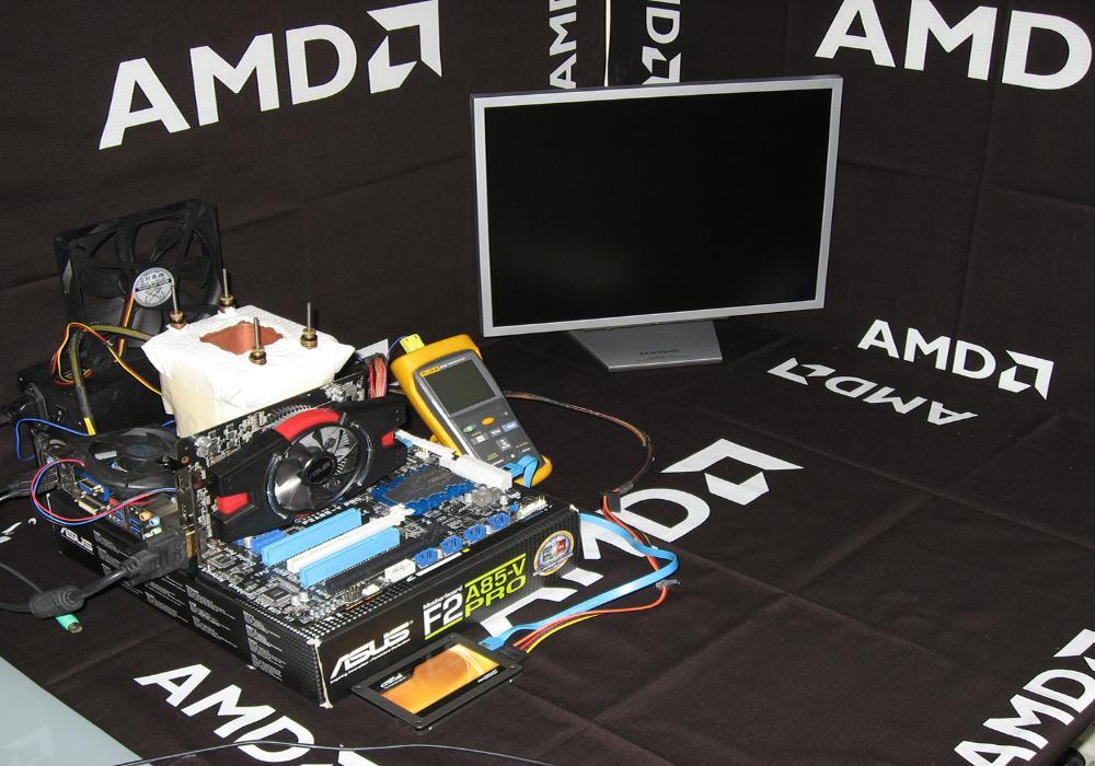 AMD A10-6800K APU Overclocked to 8.2GHz