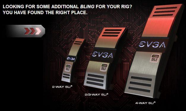 Win 1 of 5 EVGA Pro SLI Bridges!!