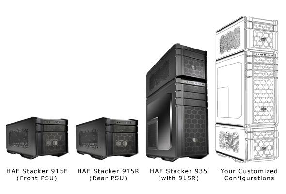 Cooler Master Unveils HAF Stacker Series At PAX Prime 2013