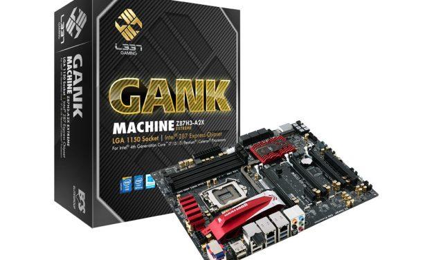 ECS Z87H3-A2X Extreme GANK Machine Motherboard Review