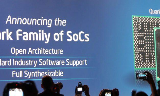 IDF 2013: Announcing Quark SoCs that are even smaller than Atom