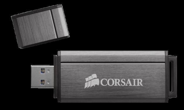 Corsair Announces High-Capacity, High-Peformance USB 3.0 Flash Drives