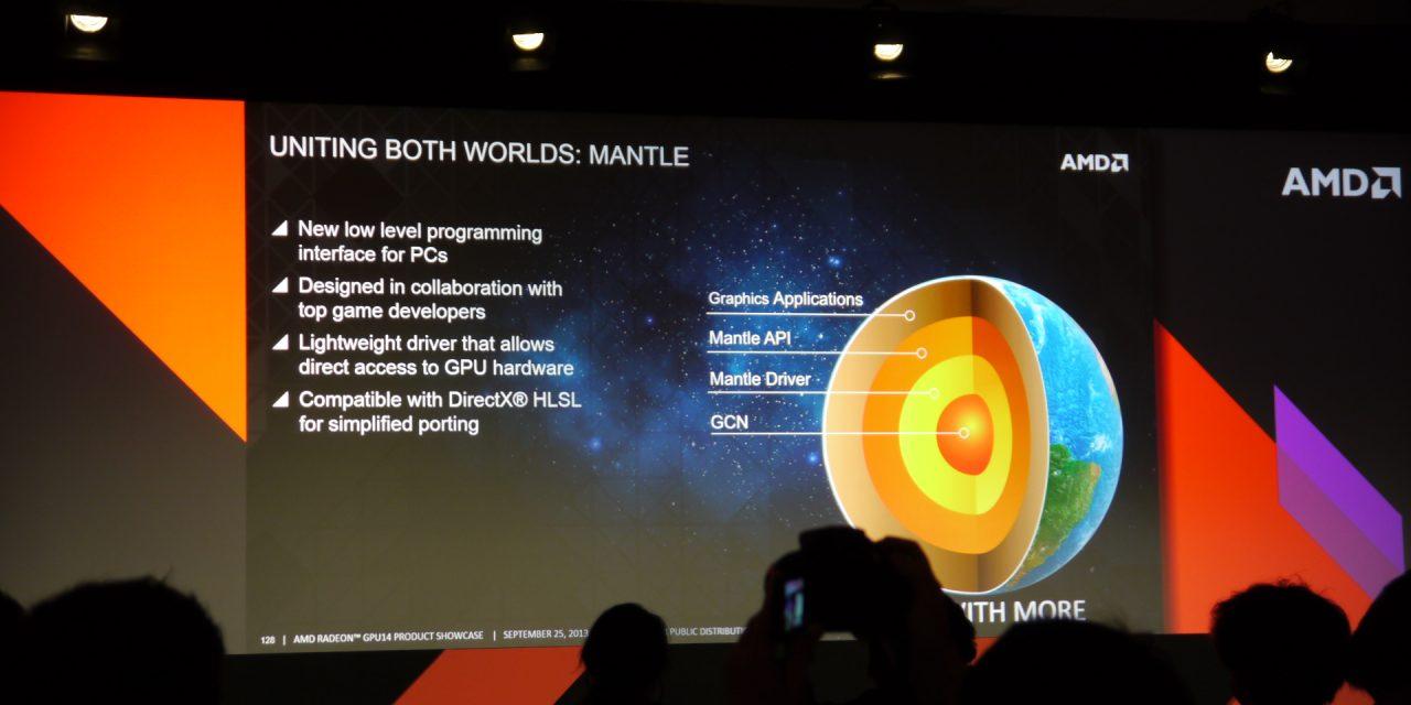 AMD Exposes Mantle – A New Hardware Level API