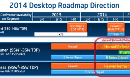 """Intel 2014 Desktop """"Roadmap"""": Broadwell-K Late 2014?"""