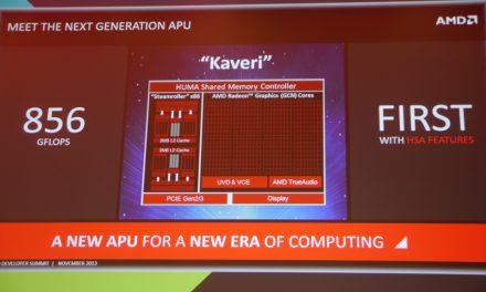 AMD Spills more Kaveri Beans: AMD APU13