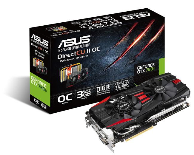 ASUS Announced GTX 780 Ti DirectCU II Graphics Card