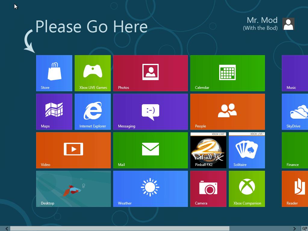Microsoft to Trademark 'Mod'? Modern Went Metro?