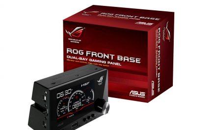 ASUS ROG Front Base Dual-Bay Gaming Panel
