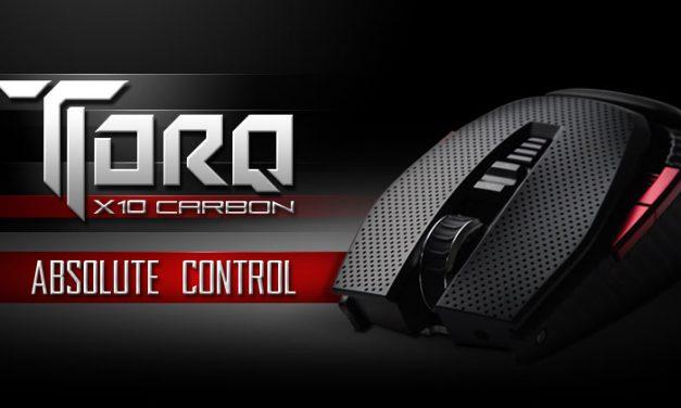 EVGA TORQ X10 Carbon Gaming Mouse