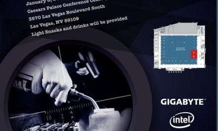 CES 2014: Gigabyte Hosting Extreme Overclocking Event
