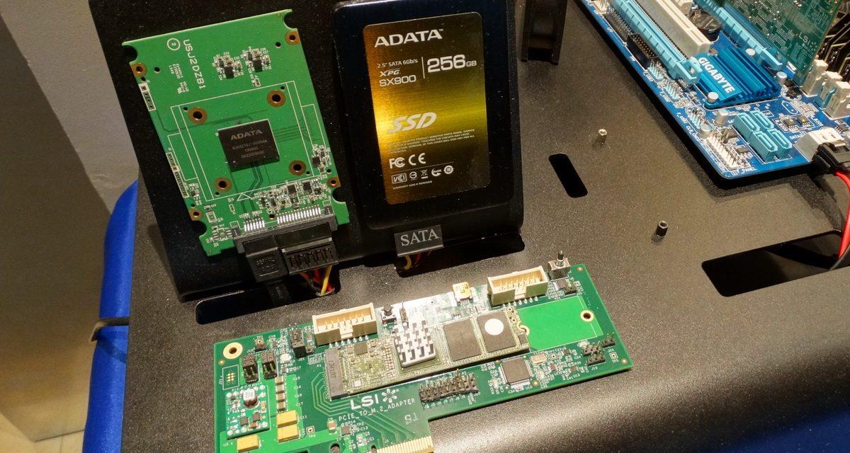 CES 2014: ADATA shows new PCIe SSD and unique OTG flash drive