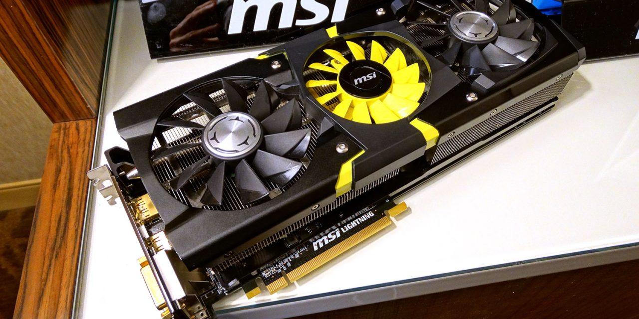 CES 2014: MSI Previews the Radeon R9 290X Lightning