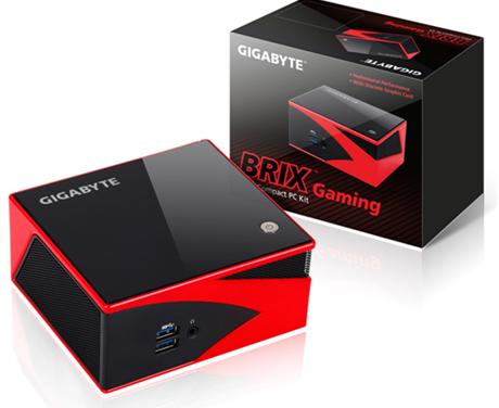 GIGABYTE BRIX Has AMD Discrete Graphics (R9 M275X)