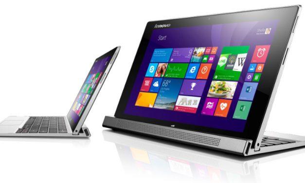 CES 2014: Lenovo Convertables, Tablets, and Laptops (Part 1) MIIX 2 10 & 11, Yoga 2 11 & 13, Flex 14D & 15D