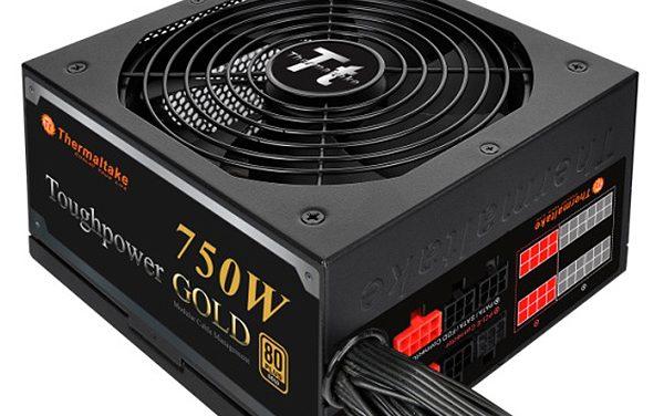 Thermaltake Launches Modular Toughpower Gold Series Power Supplies