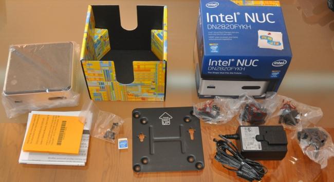 Linux powered NUC