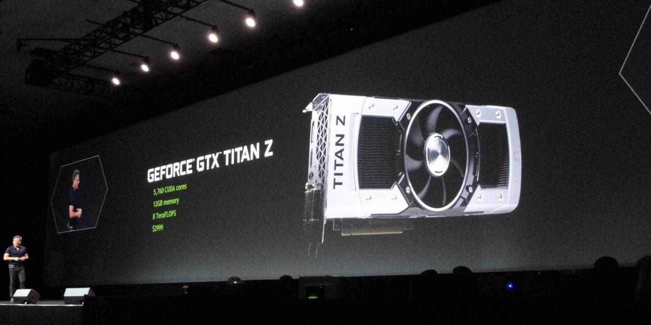 GTC 2014: NVIDIA Shows Off New Dual GK110 GPU GTX TITAN Z Graphics Card