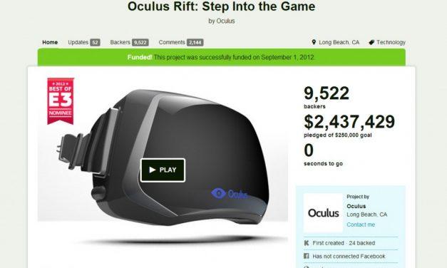 The Rift between Oculus, Kickstarter and you