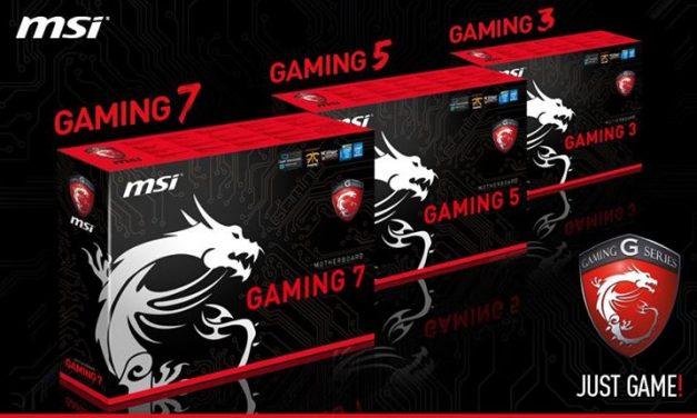 MSI Unveils Next-Gen Gaming Series Board Line