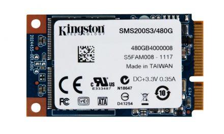 Kingston Digital Releases Larger Capacity mSATA Drives