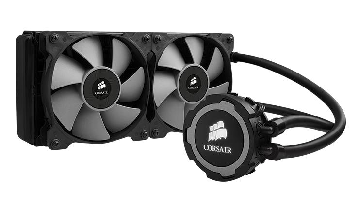Corsair H105 Extreme Performance Liquid CPU Cooler Review