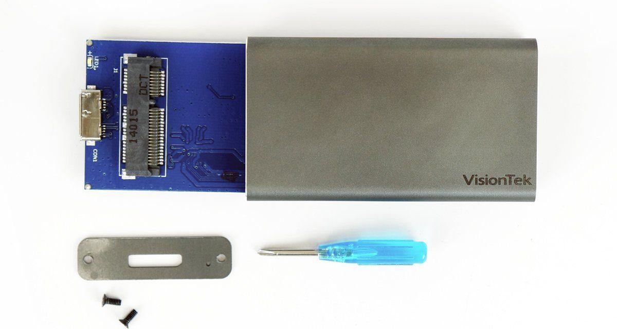 Get Speedy Portable Storage With mSATA to USB 3.0 Enclosures