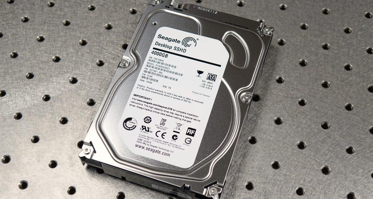 Seagate Desktop SSHD 4TB Review – Big Hybrid, Little Cache
