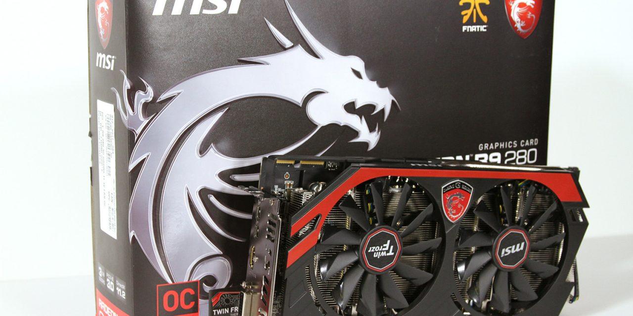 MSI Radeon R9 280 3GB Gaming Review – Tahiti Continues Its Run