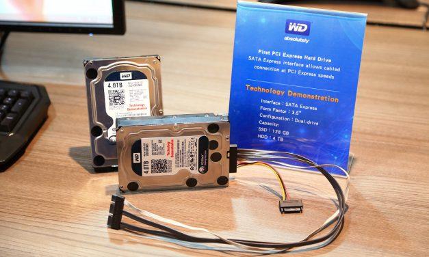 Computex 2014: WD Shows SATA Express-based PCIe HDD