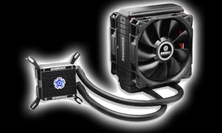 Enermax gets wet, the Liqtech 120X all in one liquid cooler