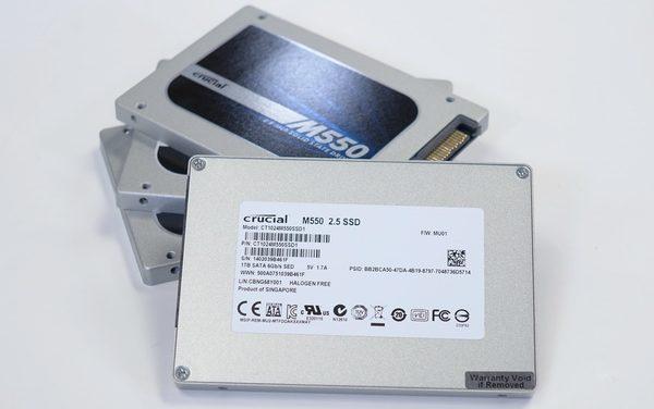 Crucial M550 2.5″ SATA SSD Full Capacity Roundup
