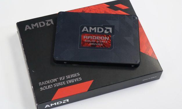 AMD Radeon R7 480GB SATA SSD Full Review – Gaming Barefoot