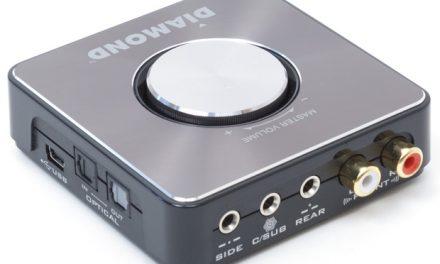 Diamond's Xtreme Sound XS71HDU looks good but how does it sound?