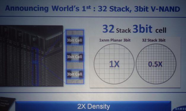 FMS 2014: Samsung announces 3D TLC VNAND, Storage Intelligence initiative