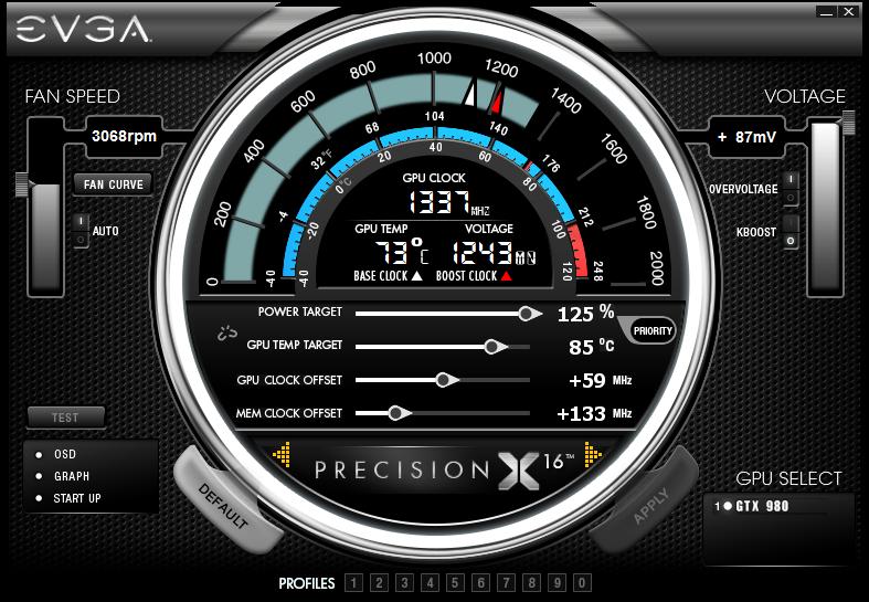 EVGA PrecisionX 16 Now Available