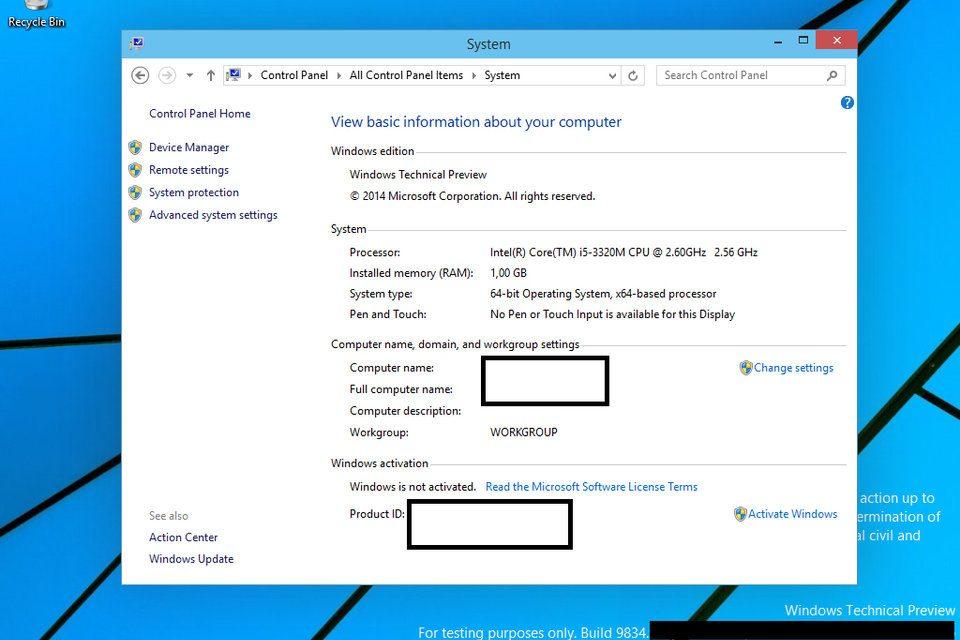 Alleged Windows 9 Screenshots Leaked