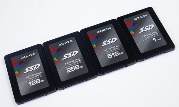 ADATA Premier SP610 SATA SSD – SM2246EN Full Capacity Roundup
