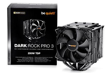 be quiet! Dark Rock Pro 3 & Shadow Rock Slim CPU Cooler Review