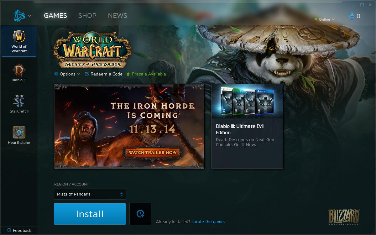 Blizzard's New Battle.net Launcher Feels Slick…