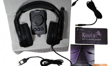 Tesoro Kuven.pro; mythical helmet or 5.1 surround headset?