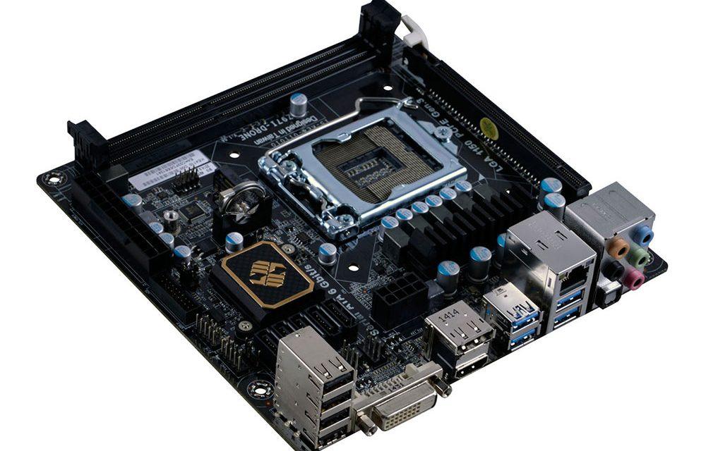ECS Launches L337 Gaming Z97I-Drone Mini ITX Motherboard